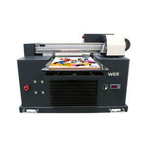 ocbestjet फोकस छोटे प्रिंटर a4 आकार डिजिटल प्रिंटिंग मशीन यूवी फ्लैटबेड प्रिंटर