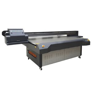 4x8 फीट की उंची कोनिका और रिकोह प्रिंट-हेड के साथ फ्लैटबेड प्रिंटर