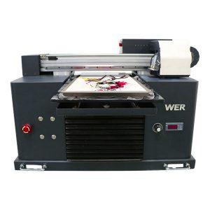पर्यावरण विलायक फ्लैटबेड प्रिंटर सस्ते मूल्य / डिजिटल फ्लैटबेड टी-शर्ट प्रिंटर