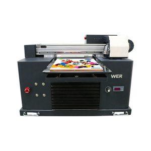 a3 आकार पूर्ण स्वचालित 4 रंग dx5 प्रिंटर हेड मिनी यूवी प्रिंटर dtg यूवी फ्लैट