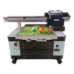 12 रंग इंकजेट a2 स्वचालित tx6090 यूवी प्रिंटर फ्लैटबेड प्रिंटर