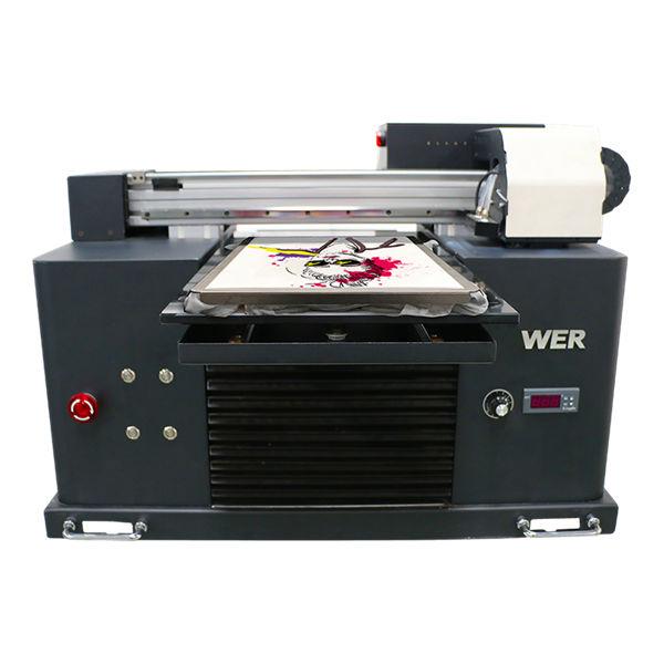 ए 3 आकार बहु-रंग फ्लैट बिस्तर प्रकार टी-शर्ट डीटीजी प्रिंटर