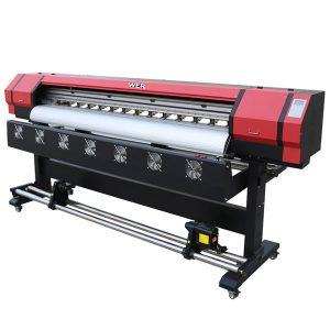 कारखाना बिक्री बैनर मुद्रण के लिए पर्यावरण विलायक vinyl प्रिंटर