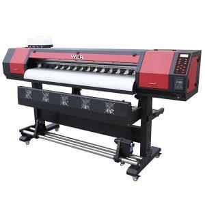 बड़े प्रारूप 1.8 m विनाइल dx5 प्रिंट हेड इको सॉल्वेंट प्रिंटर