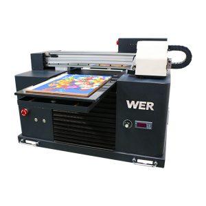 a3 यूवी प्रिंटर, उन्नत छोटे आकार के स्वचालित यूवी फ्लैटबेड प्रिंटर