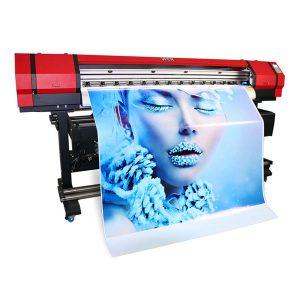 1.6 मीटर चमड़े की मशीन फ्लेक्स बैनर फ्लैटबेड कपड़े बड़े प्रारूप इको सॉल्वेंट इंकजेट