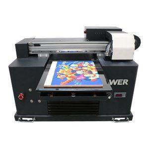 2019 नए dx5 हेड फ्लैटबेड प्रिंटर a3 साइज uv एलईडी प्रिंटिंग मशीन