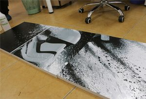 WER-G2513UV बड़े प्रारूप यूवी प्रिंटर 2 द्वारा मुद्रित बिलबोर्ड