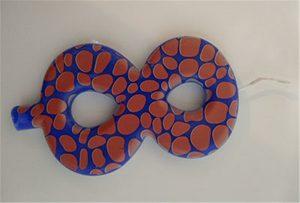 ए 2 आकार के यूवी प्रिंटर से मोमबत्ती का नमूना 1
