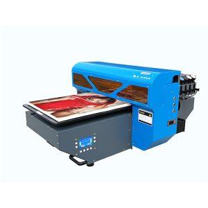 ग्लास सिरेमिक टाइल लकड़ी छोटे a2 यूवी एलईडी फ्लैटबेड प्रिंटर