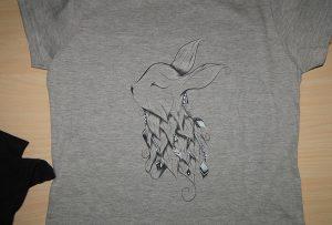 डिजिटल कपड़ा छपाई नमूना 3 द्वारा A1 डिजिटल कपड़ा प्रिंटर WER-EP6090T
