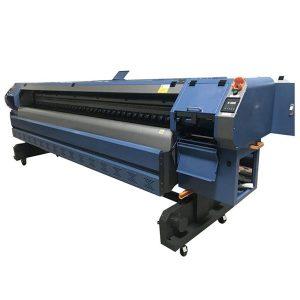 K3204I K3208I 3.2 मीटर उच्च संकल्प गर्म टुकड़े टुकड़े में फ्लेक्स प्रिंटिंग मशीन