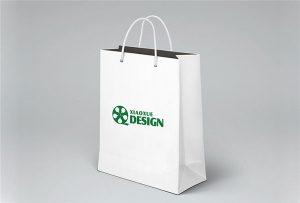 पेपर बैग मुद्रण नमूना मुद्रित-दर-A1 आकार यूवी प्रिंटर-WER-EP6090UV