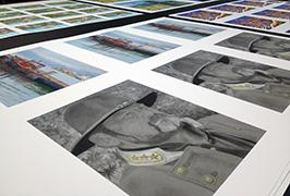1.8m (6 फीट) इको सॉल्वेंट प्रिंटर WER-ES1802 2 द्वारा मुद्रित फोटो पेपर