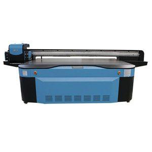 बड़े प्रारूप उच्च गति डिजिटल फ्लैटबेड चीन यूवी प्रिंटर ग्लास मुद्रण के लिए
